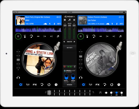 DJ Mixer II App